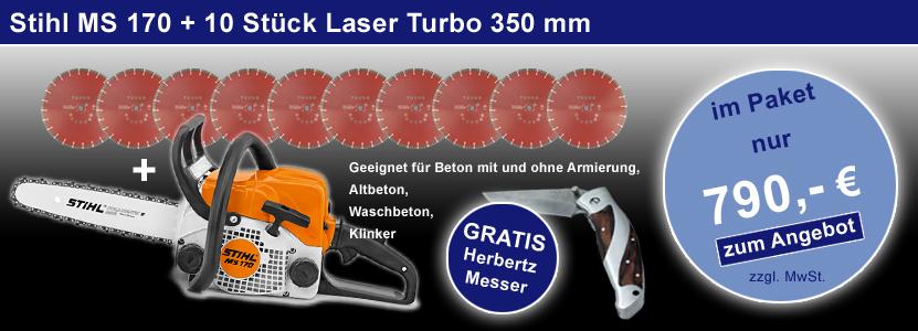 stihl ms 170 laser turbo aktion. Black Bedroom Furniture Sets. Home Design Ideas